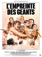 L'empreinte des géants - French Movie Poster (xs thumbnail)