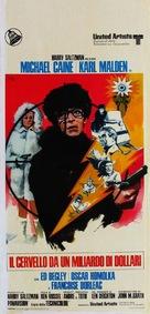 Billion Dollar Brain - Italian Movie Poster (xs thumbnail)