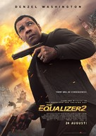 The Equalizer 2 - Swedish Movie Poster (xs thumbnail)