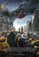 World War Z - Danish Movie Poster (xs thumbnail)