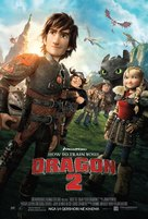 How to Train Your Dragon 2 - Bosnian Movie Poster (xs thumbnail)