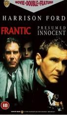 Frantic - British VHS movie cover (xs thumbnail)