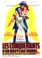 Unconquered - French Movie Poster (xs thumbnail)