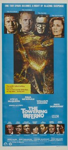 The Towering Inferno - Australian Movie Poster (xs thumbnail)