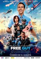 Free Guy - Slovak Movie Poster (xs thumbnail)