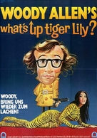 What's Up, Tiger Lily? - German Movie Poster (xs thumbnail)