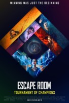 Escape Room: Tournament of Champions - Movie Poster (xs thumbnail)