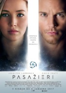 Passengers - Slovak Movie Poster (xs thumbnail)