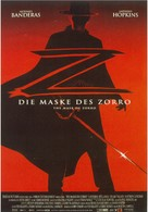 The Mask Of Zorro - German Movie Poster (xs thumbnail)