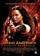 The Hunger Games: Catching Fire - Lithuanian Movie Poster (xs thumbnail)