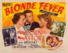 Blonde Fever - Movie Poster (xs thumbnail)