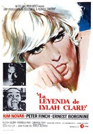 The Legend of Lylah Clare - Spanish Movie Poster (xs thumbnail)