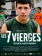 7 vírgenes - French Movie Poster (xs thumbnail)