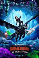 How to Train Your Dragon: The Hidden World - British Movie Cover (xs thumbnail)
