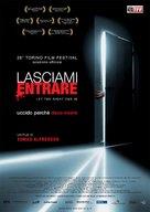 Låt den rätte komma in - Italian Movie Poster (xs thumbnail)