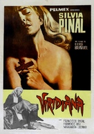 Viridiana - Brazilian Movie Poster (xs thumbnail)