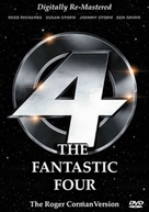 The Fantastic Four - Movie Cover (xs thumbnail)