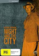 Night and the City - Australian DVD cover (xs thumbnail)