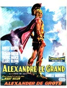 Alexander the Great - Belgian Movie Poster (xs thumbnail)
