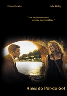Before Sunset - Brazilian Movie Poster (xs thumbnail)