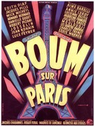 Boum sur Paris - French Movie Poster (xs thumbnail)