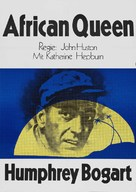 The African Queen - German Re-release poster (xs thumbnail)
