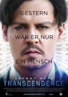 Transcendence - German Movie Poster (xs thumbnail)