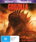 Godzilla - Australian Blu-Ray movie cover (xs thumbnail)
