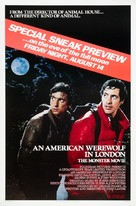 An American Werewolf in London - Advance movie poster (xs thumbnail)