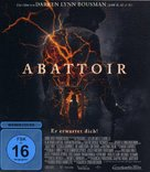 Abattoir - German Blu-Ray movie cover (xs thumbnail)