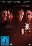 Side Effects - German DVD cover (xs thumbnail)