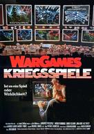 WarGames - German Movie Poster (xs thumbnail)