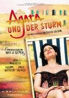 Agata e la tempesta - German Movie Poster (xs thumbnail)