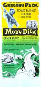 Moby Dick - Swedish Movie Poster (xs thumbnail)
