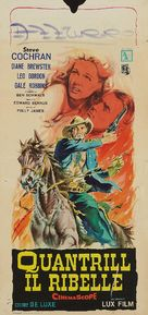 Quantrill's Raiders - Italian Movie Poster (xs thumbnail)