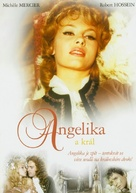 Angélique et le roy - Czech DVD cover (xs thumbnail)
