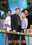 """CSI: Miami"" - Hungarian poster (xs thumbnail)"