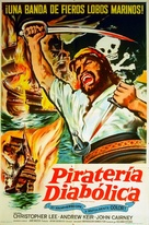 The Devil-Ship Pirates - Argentinian Movie Poster (xs thumbnail)