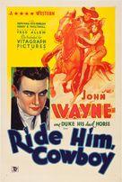 Ride Him, Cowboy - Movie Poster (xs thumbnail)