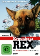 """Kommissar Rex"" - German DVD cover (xs thumbnail)"