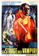 La strage dei vampiri - Italian Movie Poster (xs thumbnail)