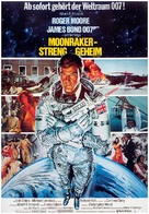 Moonraker - German Movie Poster (xs thumbnail)