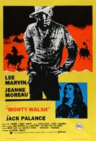 Monte Walsh - Spanish Movie Poster (xs thumbnail)