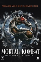 Mortal Kombat: Annihilation - French DVD movie cover (xs thumbnail)