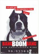 Bang Boom Bang - Ein todsicheres Ding - German Movie Poster (xs thumbnail)