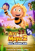 Maya the Bee: The Honey Games - Turkish Movie Poster (xs thumbnail)