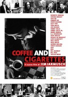 Coffee and Cigarettes - Italian Movie Poster (xs thumbnail)