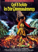 The Ten Commandments - French Re-release movie poster (xs thumbnail)