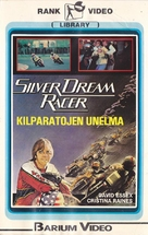Silver Dream Racer - Finnish VHS movie cover (xs thumbnail)