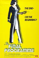 The Final Programme - British Movie Poster (xs thumbnail)